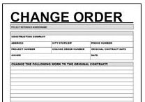 Michael Panish Construction Dispute Contractor Fraud Expert Witness - Construction contract change order template