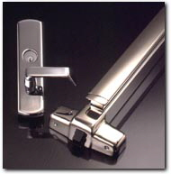 Door panic hardware for Exterior panic hardware